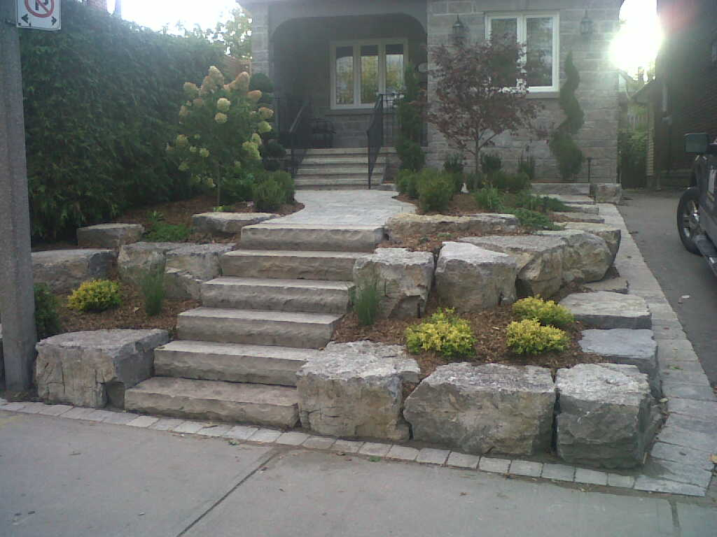 Landscape Stone Work Interface Designs Inc